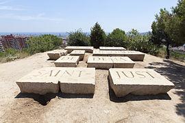 """Monumento en el monte Carmelo: """"El orden de hoy es el desorden del mañana""""."""